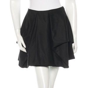 Alexander McQueen Structured Wool Skirt
